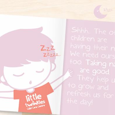 little twinkles student handbook design nap