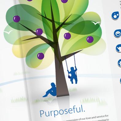 yck chapel brochure design purposeful