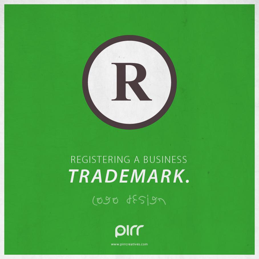 logo design  registering a business trademark