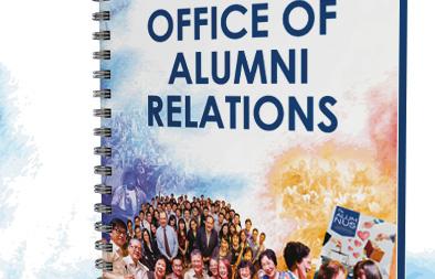 Notebook Design for NUS Office of Alumni Relations