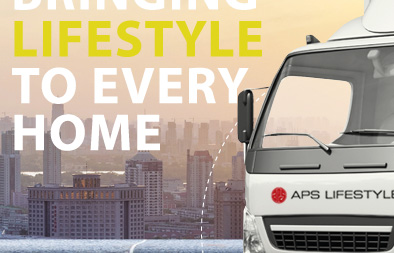 Sticker Decals for APS Lifestyle Livery