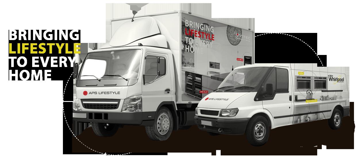 sticker decals truck van livery aps lifestyle