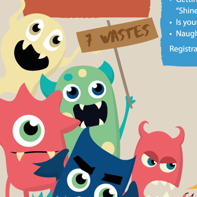 singapore general hospital sgh poster email web banner design qi fest monsters