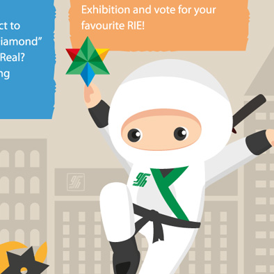 singapore general hospital sgh poster email web banner design qi fest ninja