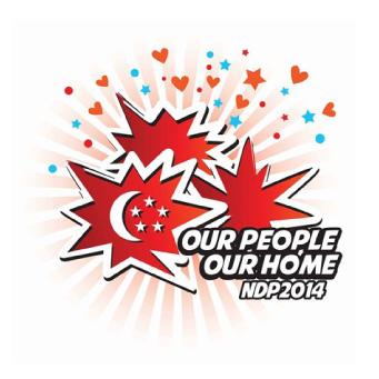 singapore ndp logo 2014