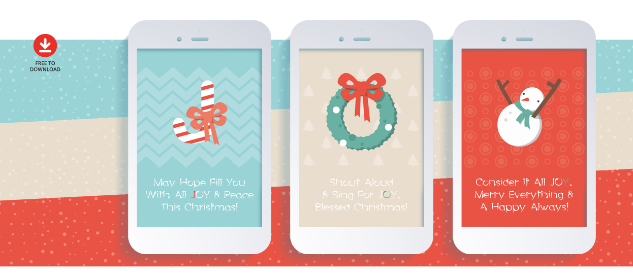 Free Christmas Greeting Card Design Pirr Creatives