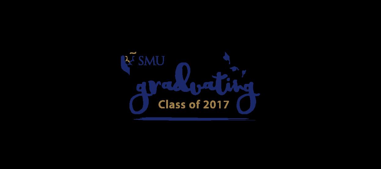 smu graduating class 2017 logo design