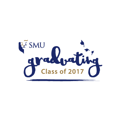 smu graduating class of 2017 logo full colour
