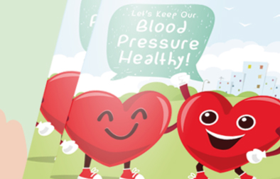 Heart Health and Blood Pressure Handbook for Singapore Heart Foundation
