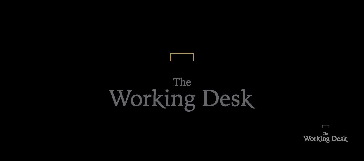 company secretary logo design working desk o