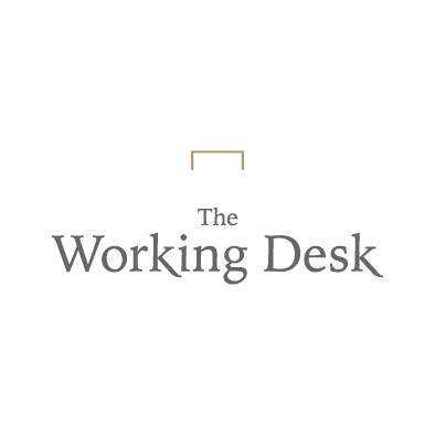 working desk logo company secretary stapler full colour