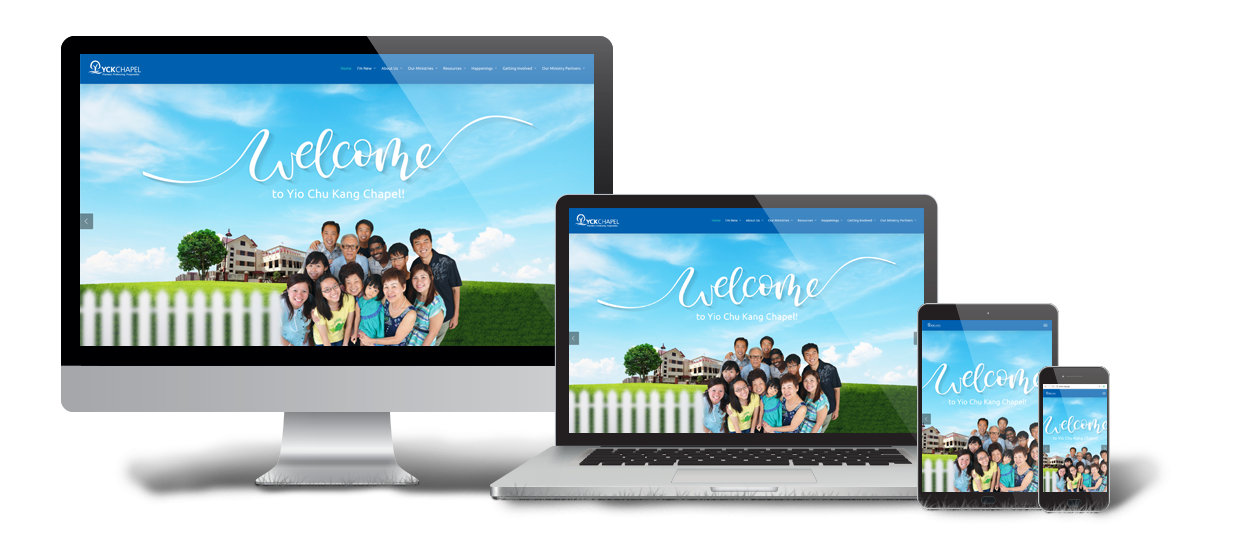 church website design yio chu kang chapel