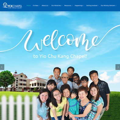 yio chu kang chapel website home