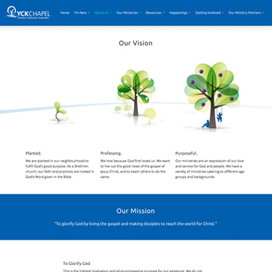 yio chu kang chapel website vision mission