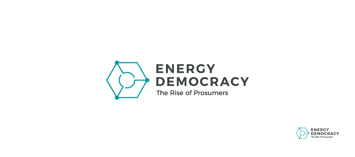 logo design energy democracy o