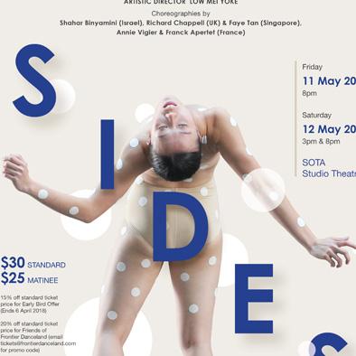 sides 2018 poster design