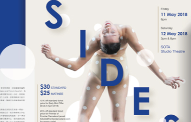 Sides 2018 Poster, Flyer and Programme Booklet Design