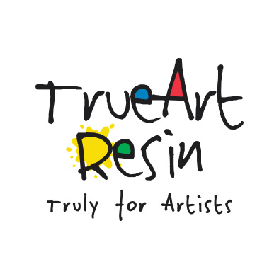 trueart resin logo design