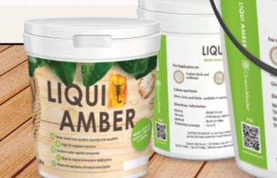 Product Label Design for Liqui Amber