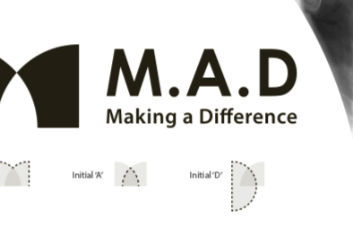Responsive Logo Design for M.A.D (Making a Difference)