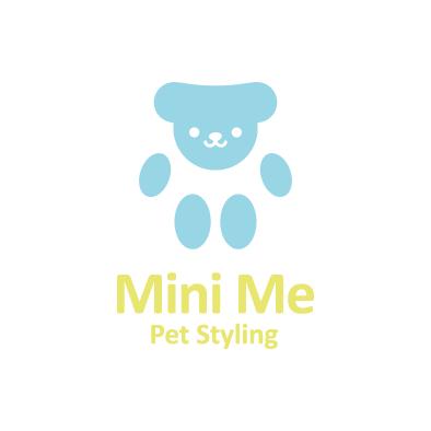mini me logo pet paw full colour