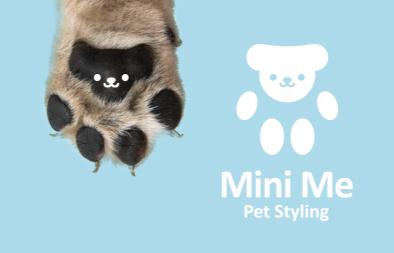 Pet Styling Logo Design for Mini Me
