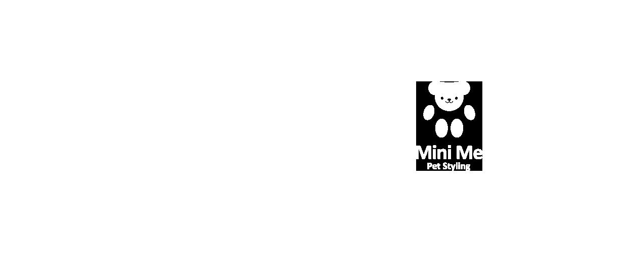 pet styling logo design mini me